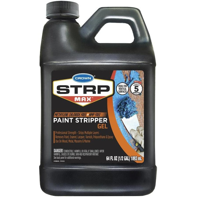 Crown 64 fl. oz. STRP MAX Paint Stripper Gel