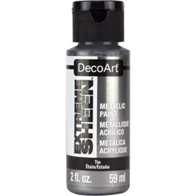 DecoArt 2 fl. oz. Tin Extreme Sheen Metallic Paint