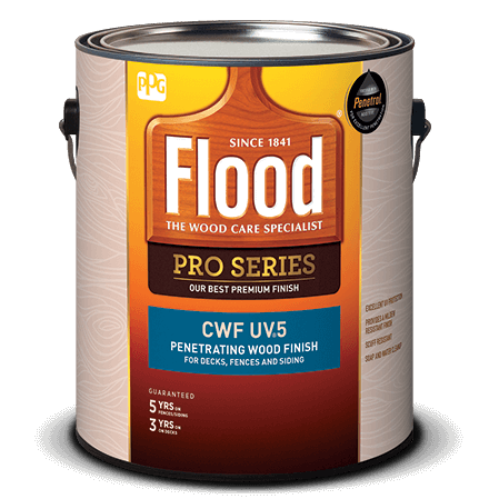 Flood 1 Gallon Natural/Tint Base CWF-UV 5 Wood Finish