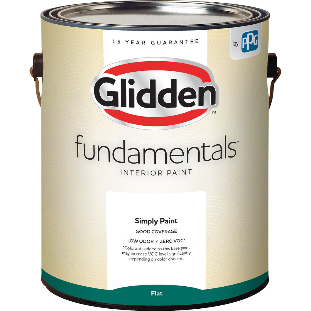 Glidden Fundamentals Interior Paint Flat