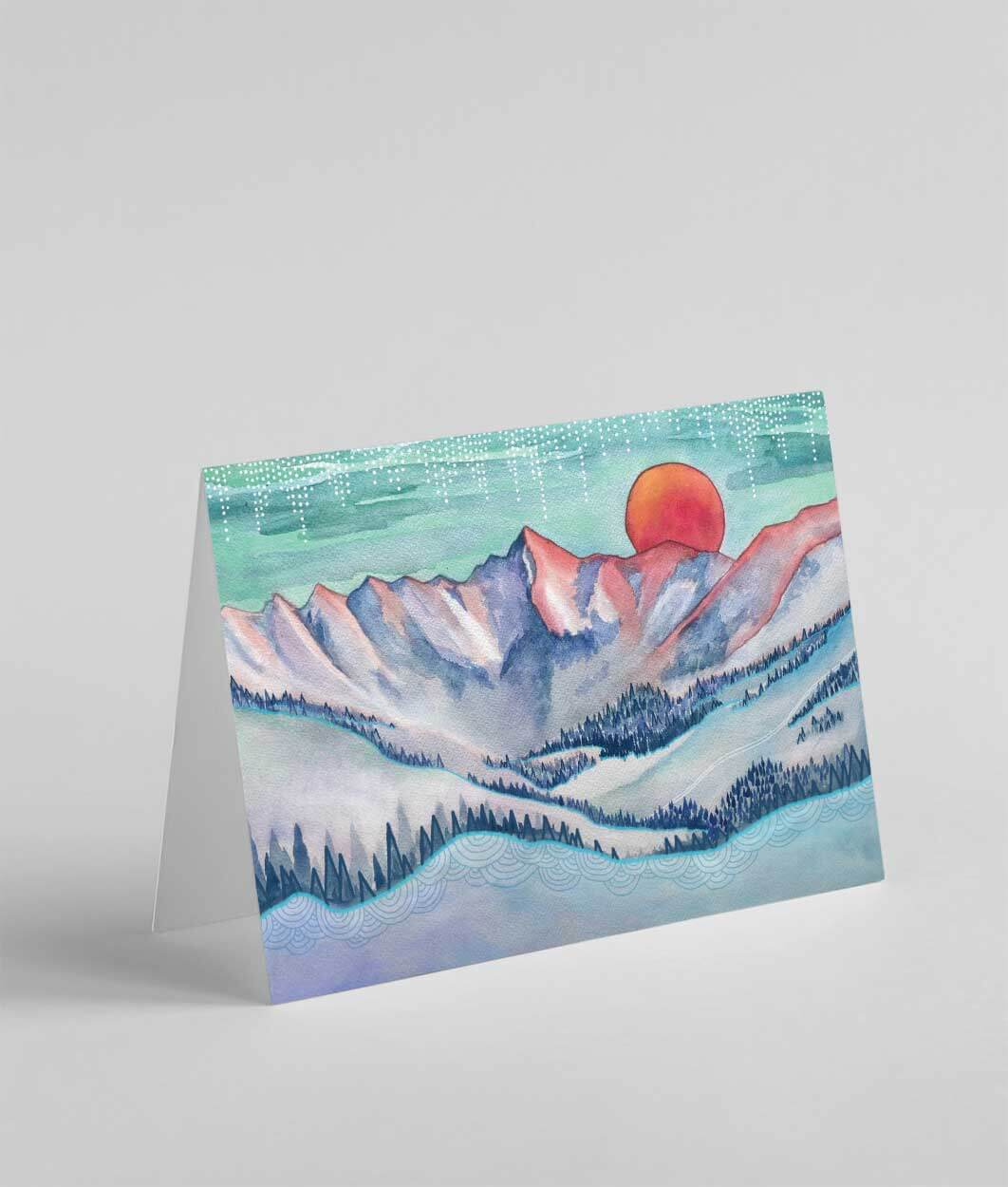 Gore Range Greeting Card