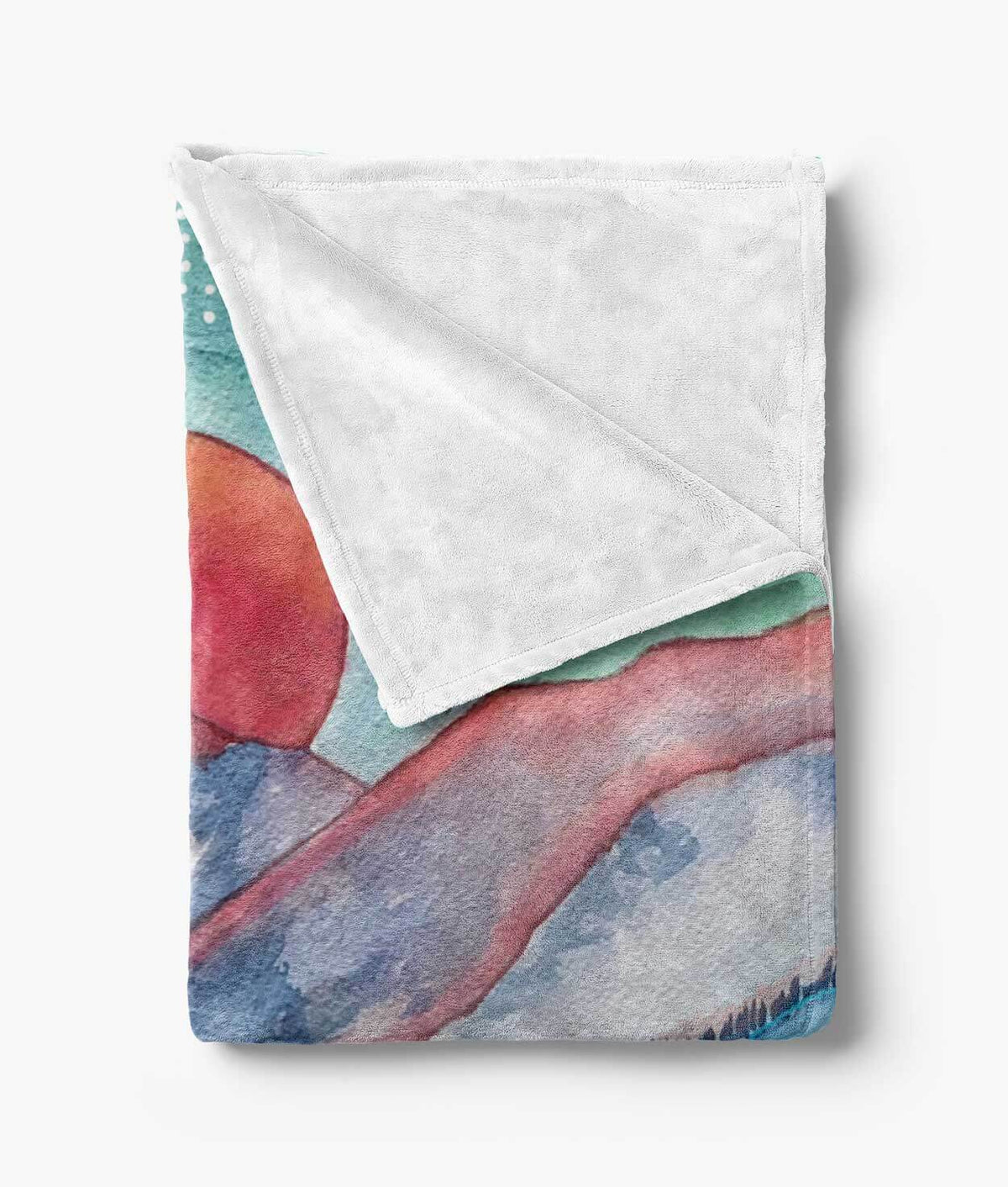 Gore Range Blanket | Fleece Minky Throw Blanket
