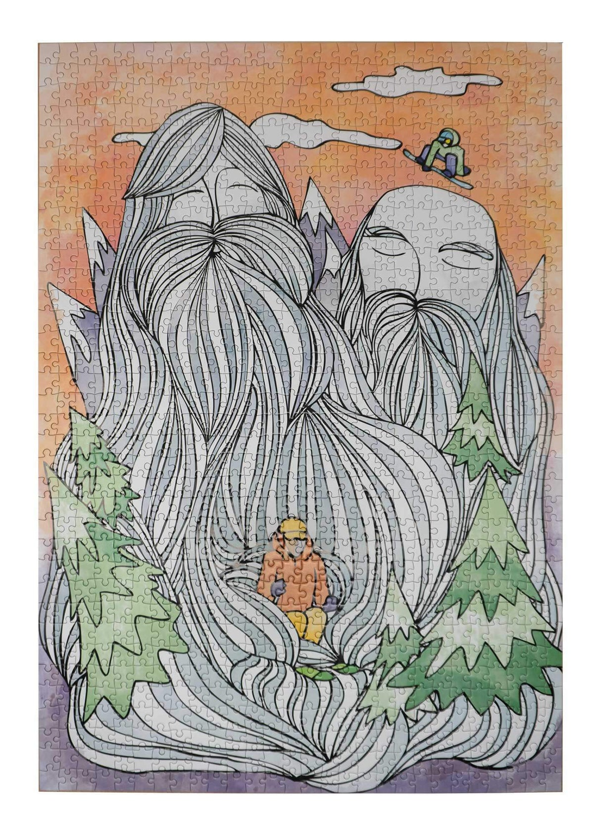 Mountain Men Jigsaw Puzzle | 1000 Piece Jigsaw Puzzle