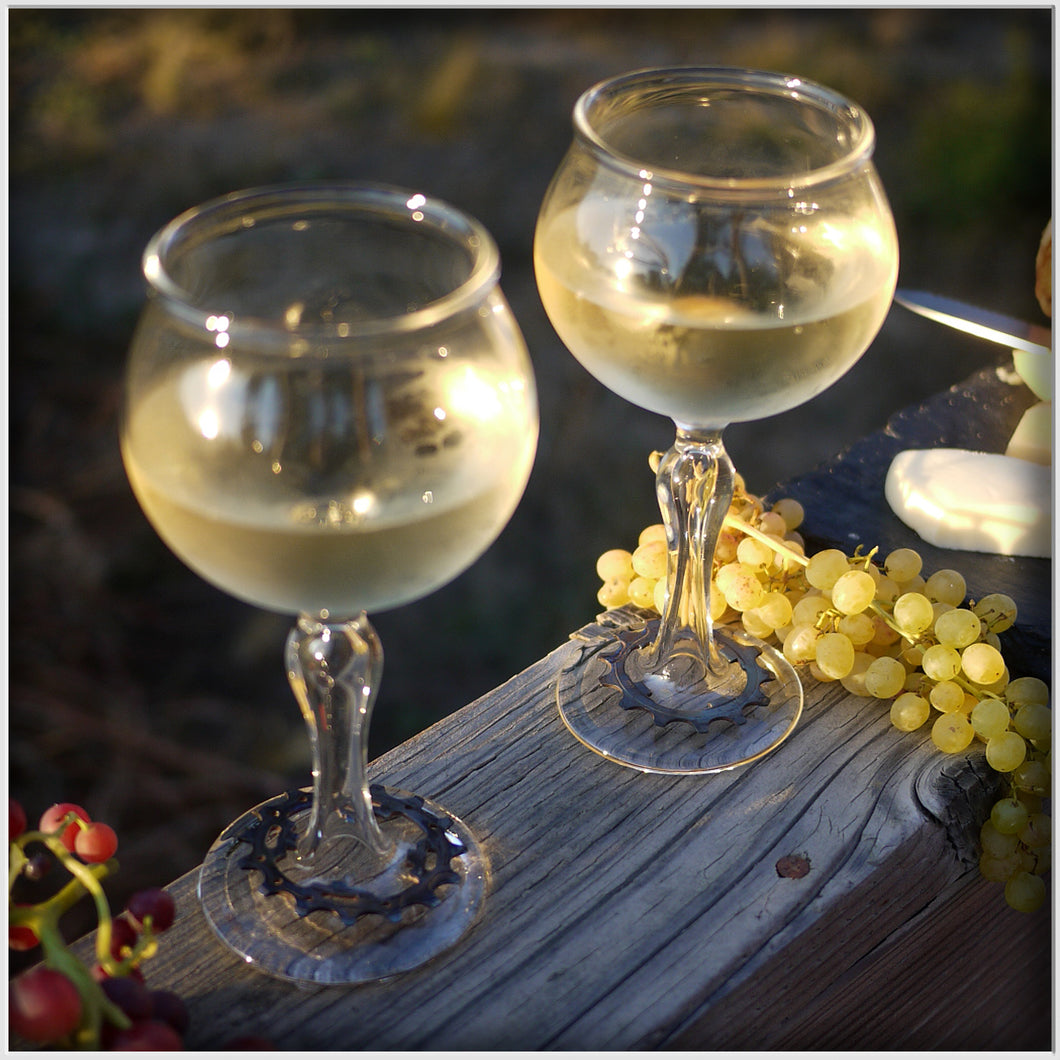 Cog Wine Glass (set of 2)