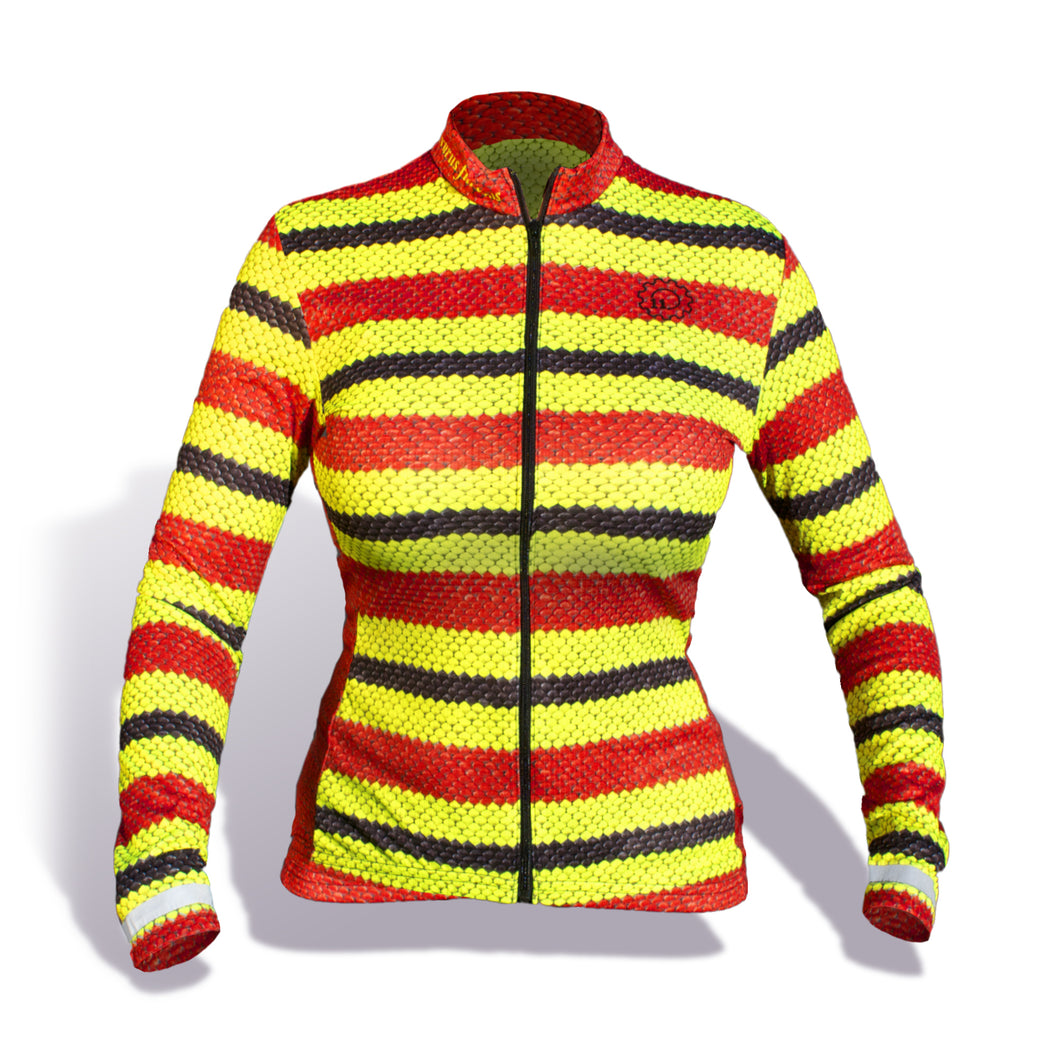 Coral Snake Jersey/Long-Sleeve Women's