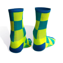 Load image into Gallery viewer, Two Tone Siren Hi-Viz Socks