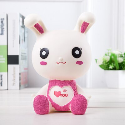 Tirelire Lapin Rose Câlin