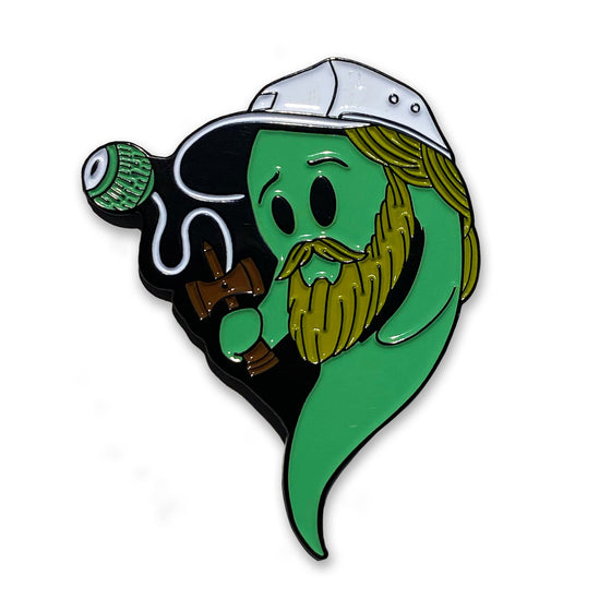 Boogie T - Bayou Ghost - Pin