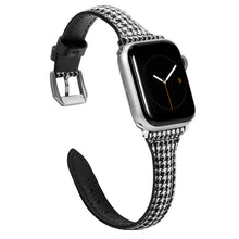 Load image into Gallery viewer, TOYOUTHS Apple Watch Band Woven Canvas Fabric Cloth Band Rose Gold Strap Wristband Women Men