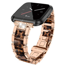 Load image into Gallery viewer, TOYOUTHS Metal Strap Fitbit Versa/Versa Lite/Versa 2 Special Edition Bands Women Men Stainless Steel