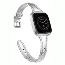 Load image into Gallery viewer, TOYOUTHS Leather Strap Fitbit Versa/Versa 2 Bands Women Men Slim