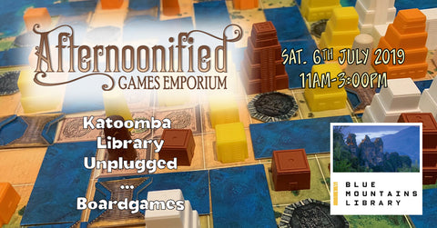 Katoomba Library Unplugged ... Boardgames Event