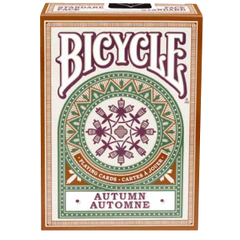 Bicycle Playing Cards Autumn Automne