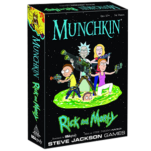 Munchkin Rick and Morty Card Game