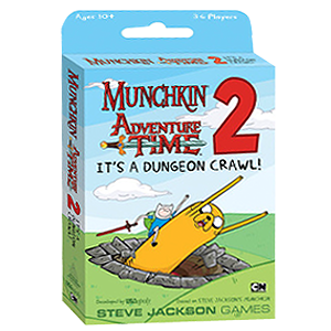 Munchkin Adventure Time 2 - It's a Dungeon Crawl