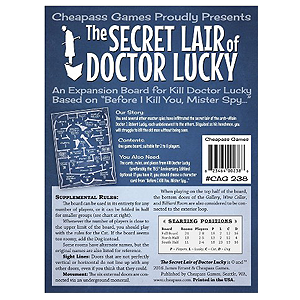 The Secret Lair of Doctor Lucky