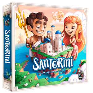 Santorini board game 2nd edition