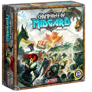 Champions of Midgard Board Game