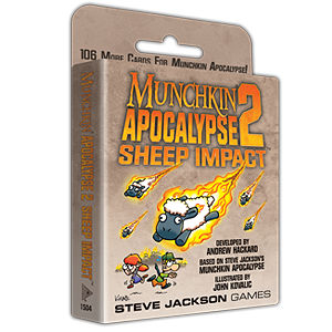 Munchkin Apocalypse 2 - Sheep Impact Expansion