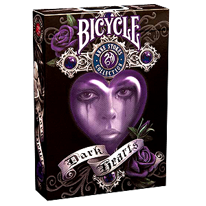 Bicycle Playing Cards Dark Hearts Anne Stokes