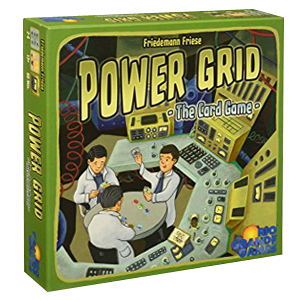 Power Grid - The Card Game