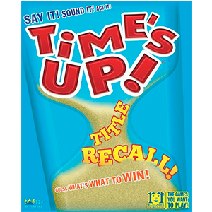 Time's Up Title Recall! Party Game