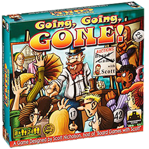 Going, going, gone! Board Game