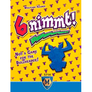 6 Nimmt! (or Take 6) card game by Wolfgang Kramer
