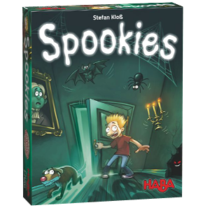 Spookies children's board game