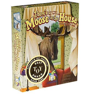 Moose in the House Card Game