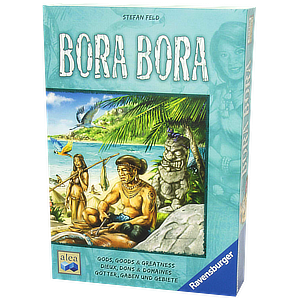Bora Bora Board Game by Stefan Feld