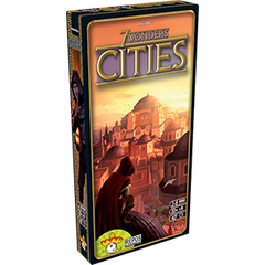 Cities expansion for 7 Wonders by Antoine Bauza from Repos Production