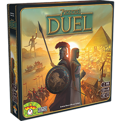 7 Wonders Duel card game by Antoine Bauza from Repos Production