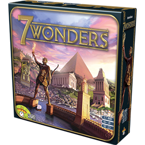 7 Wonders card game by Antoine Bauza from Repos Production