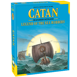 Catan Legend of the Sea Robbers Game Expansion