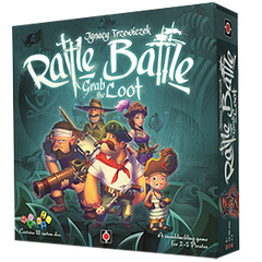 Rattle Battle Grab The Loot Board Game