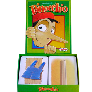 Pinocchio Card Game