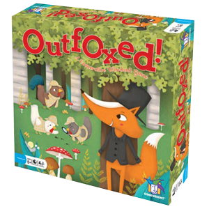 Outfoxed co-operative children's board game