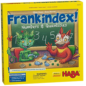 Frankindex Number & Quantities Board Game