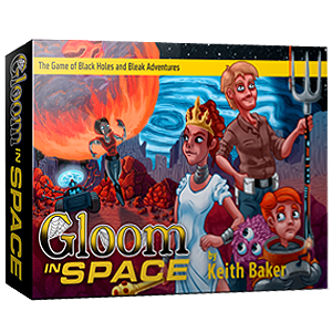 Gloom in Space Card Game