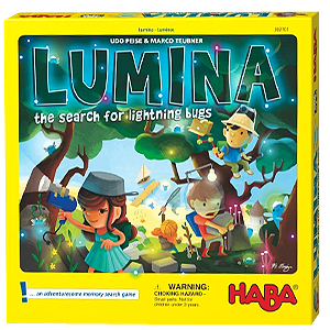 Lumina Search hor Lightning Bugs Board Game