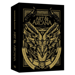 D&D Art & Arcana - A Visual History - Deluxe Boxed edition
