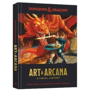 D&D Art & Arcana A Visual History - Hardback Edition