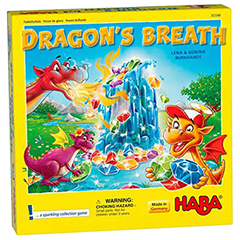 Dragon's Breath Board Game Kinderspiel des Jahres winner