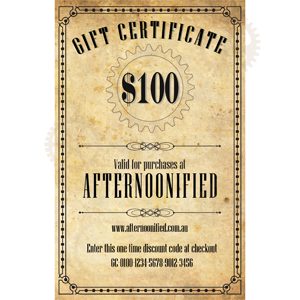 $100 Afternoonified Gift Voucher