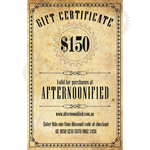 $150 Afternoonified Gift Voucher