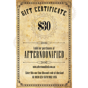 $30 Afternoonified Gift Voucher