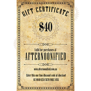 $40 Afternoonified Gift Voucher
