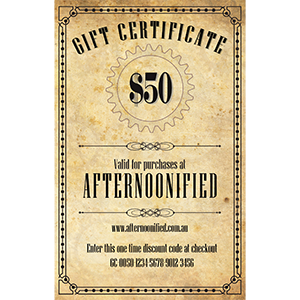 $50 Afternoonified Gift Voucher