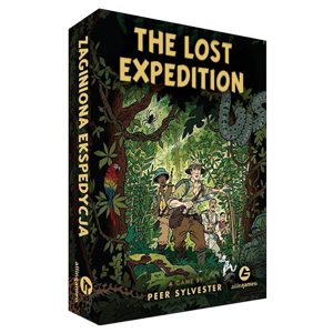 The Lost Expedition board game